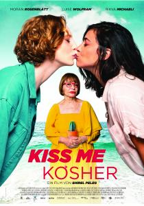 "Poster ""Kiss me Kosher"""